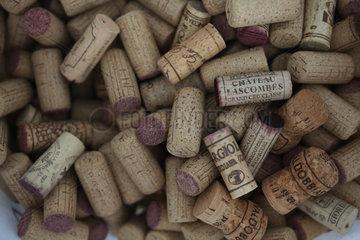 Zuerich  Schweiz  Weinkorken