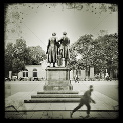 Goethe und Schiller Denkmal Weimar
