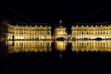 Place de la Bourse  Bordeaux  France