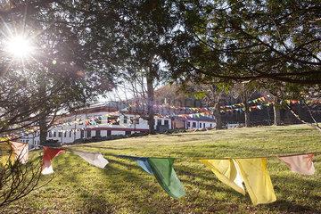 Karma Triyana Dharmachakra Tibetan Buddhist Monastery in Woodstock  New York  USA