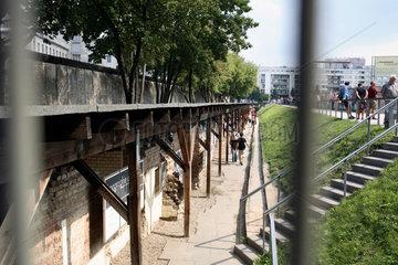 Berlin  Berliner Mauer und Topographie des Terrors