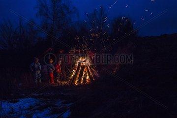 Scheibenschlagen im suedlichen Schwarzwald