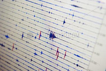 Seismograph  close-up