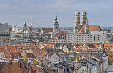 Stadtpanorama Muenchen