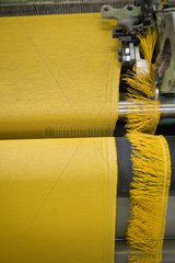 Fabric coating plant  weaving department  textile composite fabric selvage