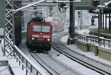 Regionalbahnzug der DB Regio