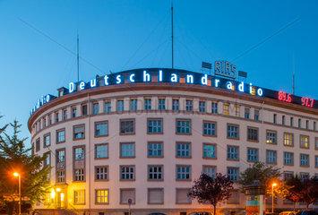 Berlin  Deutschland  Funkhaus Berlin des Deutschlandradio Kultur