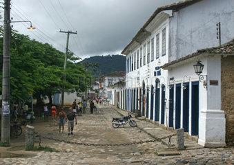 Paraty  Brasilien  historische Altstadt