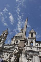 Obelisk in Piazza Navona