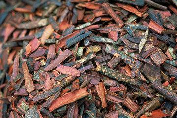 Cinnamon bark  full frame