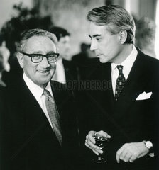 Henry Kissinger  Richard Burt  1985