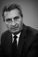 Guenther Oettinger  European Commissioner for Digital Economy and Society