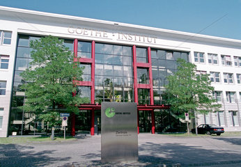 Die Zentrale der Goethe Institute in Muenchen