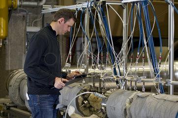 Flugzeugtriebwerk-Teststand TU Berlin