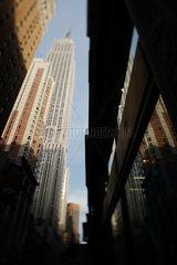New York City  USA  Empire State Building