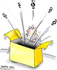 Paragraphen Recht Gesetz Box