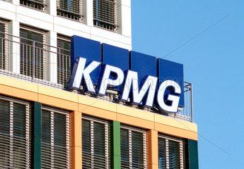 Logo der KPMG in Muenchen
