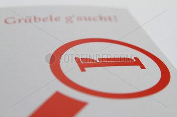 Stuttgart  Deutschland  Symbolfoto fuer Unterkunft gesucht