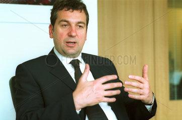 Detlef Kornett  Chef AEG-Europe und Berliner Eisbaeren