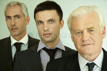Male executives  portrait