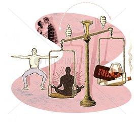 Ins Gleichgewicht kommen
