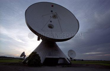Erdfunkanlage der Telekom in Raisting