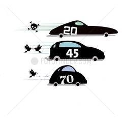 Vom Sportwagen zum Kleinwagen