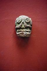 Precolumbian sculpture  Frida Kahlo Museum  Mexico City  Mexico