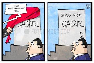 Bloss nicht Gabriel