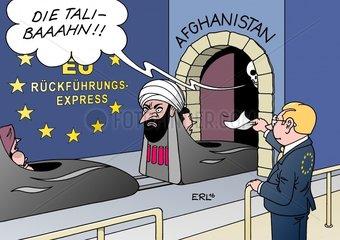 Afghanistan Fluechtlinge Rueckfuehrung EU