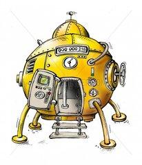Zeitmaschine UFO
