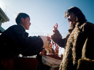 CHINA-TIBET-NEW YEAR-PRAYER FLAG (CN)