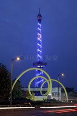 Abendaufnahme Funkturm