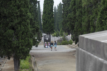 Der Alliierten-Friedhof von Zeitenlik in Thessaloniki