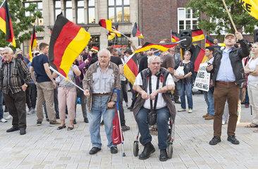 Merkel muss weg-Demo  Hamburg