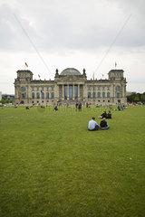 Germany  Berlin  The Reichstag (Bundestag)  German parliamentary building
