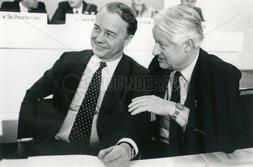 Ernst Albrecht  Wilfried Hasselmann  CDU Niedersachsen  1986