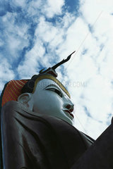 Seated Buddha  Amarapura  Myanmar (Burma)
