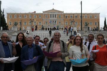 GREECE-ATHENS-RALLY