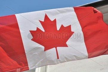 Kanadische Fahne  Flagge Kanada