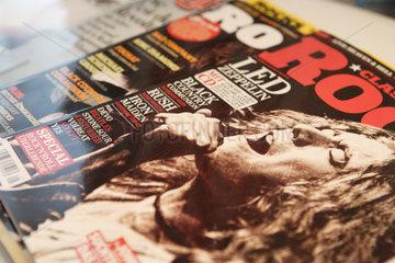 Berlin  Deutschland  diverse Rockmagazine