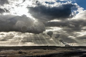 Tagebau Inden im Rheinischen Braunkohlerevier