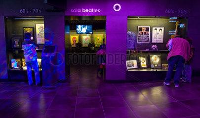 Barcelona  Spanien  das Museu del rock im Einkaufszentrum Las Arenas de Barcelona