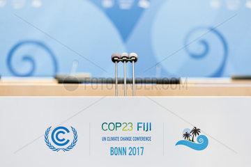 UN-Klimakonferenz COP 23  Bonn