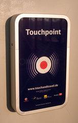 Berlin  Deutschland  Touchpoint am Bahnhof Suedkreuz