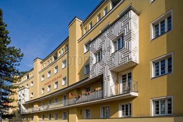 Wien  Oesterreich  der Friedrich Engels-Hof im 11. Wiener Gemeindebezirk Simmering