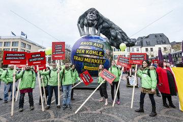Demo zur UN-Klimakonferenz Bonn 2017