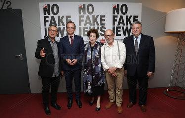 Bundesaussenminister Heiko Maas  SPD  auf dem juedischen Filmfestival in Berlin