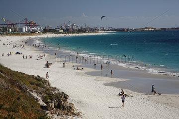 Perth  Australien  Strand von Perth