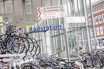Fahrradstadt Muenster - Fahrradstellplatz